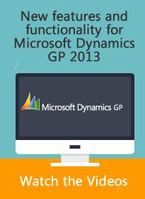 Microsoft Dynamics GP Videos