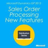 Microsoft Dynamics GP Sales Order Processing New Features
